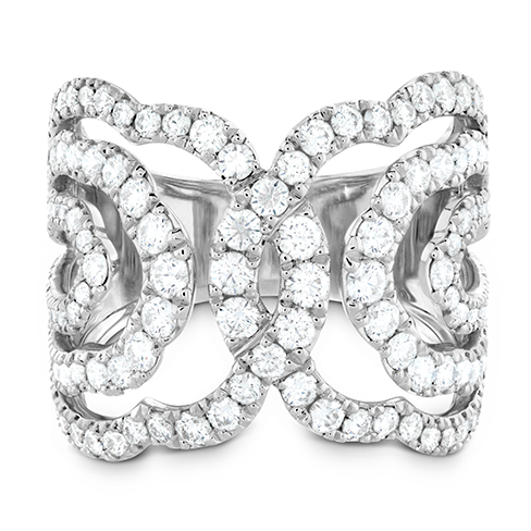 Lorelei Diamond Interlocking Ring