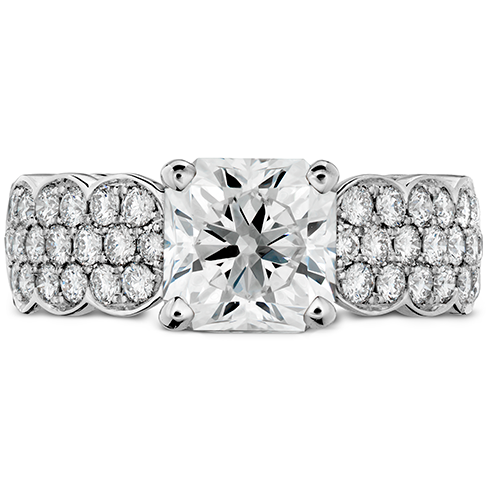 Lorelei Dream Pave Engagement Ring