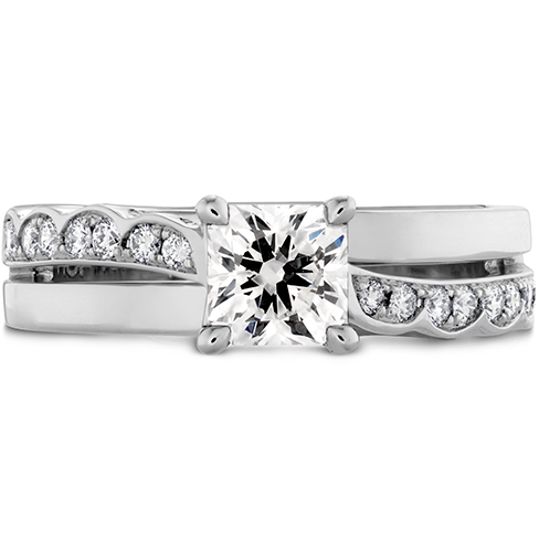 Lorelei Dream Single Cross Over Engagement Ring