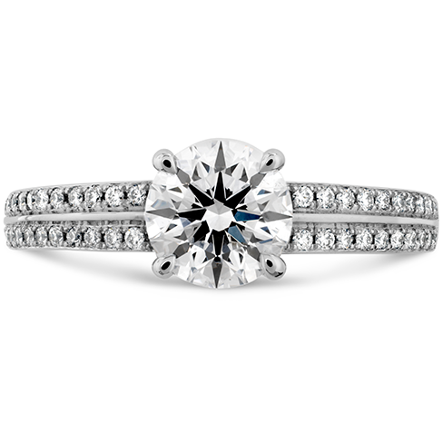Lorelei Engagement Ring Diamond Band