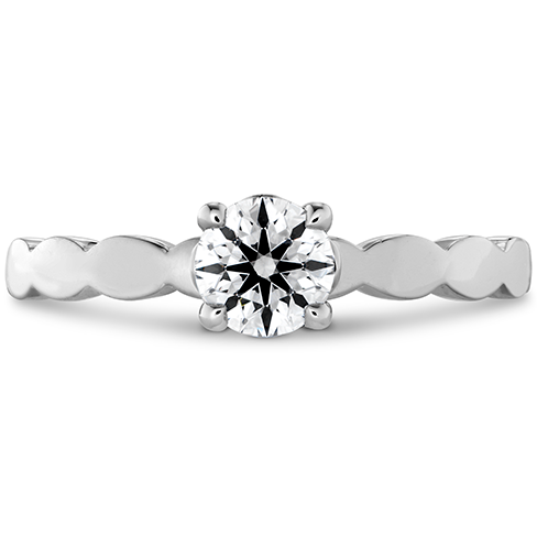 Lorelei Floral Solitaire Engagement Ring
