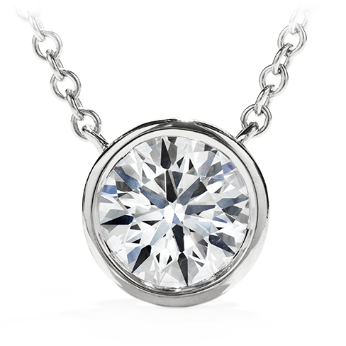 Obsession Solitaire Pendant Necklace