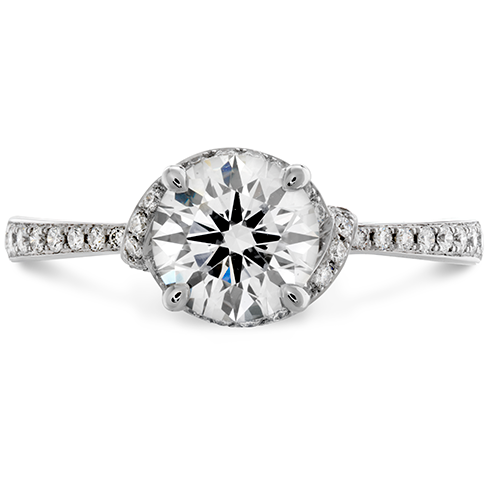 Optima Engagement Ring  Diamond Band