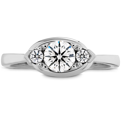Optima Regal Engagement Ring Horizontal