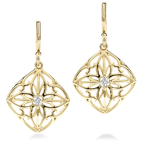 Potpourri Filigree Medium Drop Earrings