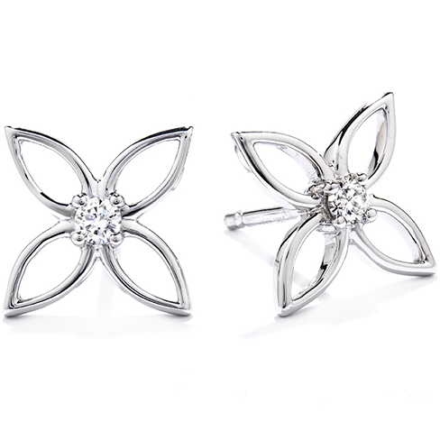 Potpourri Four Leaf Stud Earrings