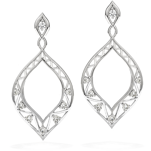 Provocative Teardrop Earrings
