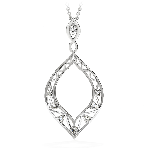 Provocative Teardrop Pendant