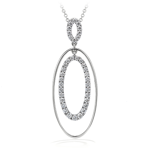 Reflection Oval Pendant