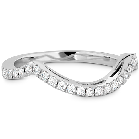Significance Curved Diamond Band