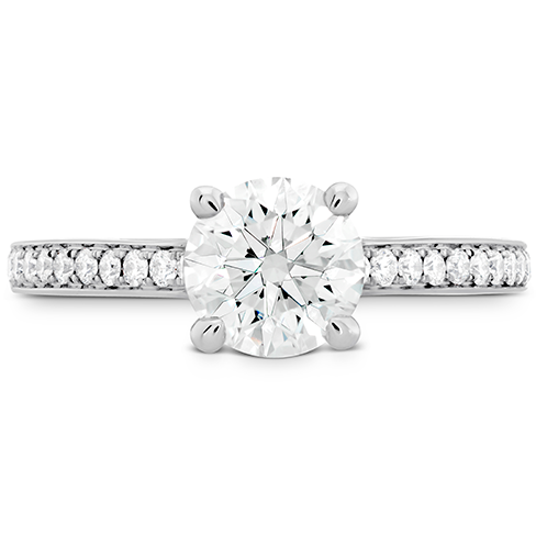 Simply Bridal Engagement Ring Diamond Band