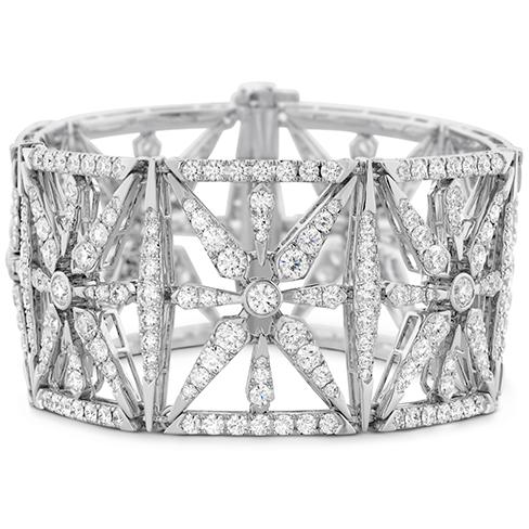 Triplicity Diamond Cuff Bracelet