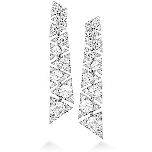 Triplicity Drop Earrings