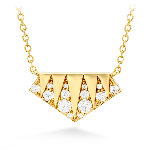 Triplicity Golden Pendant