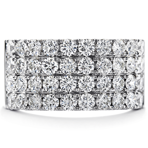 Truly Classic Four Row Right Hand Ring