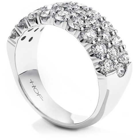 Truly Triple Row Right Hand Ring