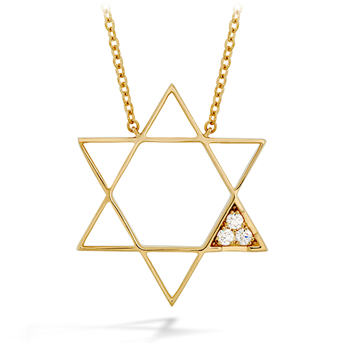Virtuous Multi Diamond Pendant