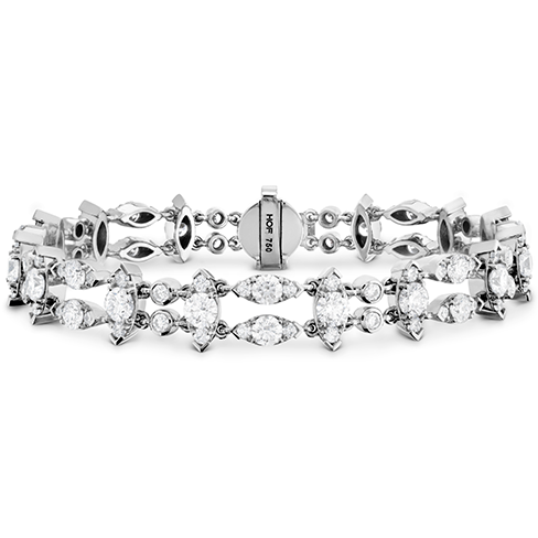 Whimsical Double Row Line Bracelet