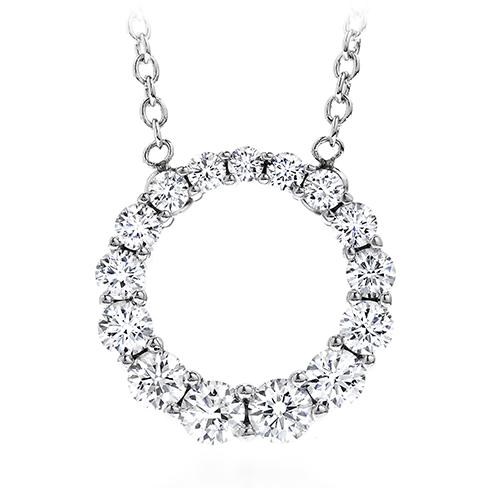 Whimsical graduated circle pendant necklace aloadofball Choice Image