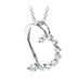 Amorous Journey Heart Pendant Necklace view 2
