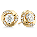 Atlantico Diamond Stud Earrings