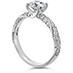 Atlantico Pave Engagement Ring view 2