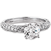 Atlantico Pave Engagement Ring view 3