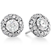 Atlantico Pave Stud Earrings