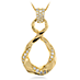 Atlantico Wave Drop Pendant