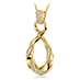 Atlantico Wave Drop Pendant view 2