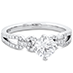 Brielle Engagement Ring - Diamond Intensive view 3