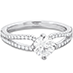 Brielle Split Shank Engagement Ring view 3
