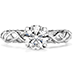 Brocade Solitaire Engagement Ring view 1