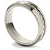 Commanding Grey Titanium Band with Cable Band view 2