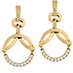 Copley Circle Drop Earrings