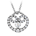 Copley Diamond Heart Pendant view 1