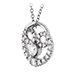 Copley Diamond Heart Pendant view 2