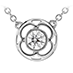 Copley Single Diamond Pendant view 1