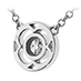 Copley Single Diamond Pendant view 3