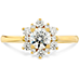 Delight Lady Di Diamond Engagement Ring view 3