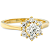 Delight Lady Di Diamond Engagement Ring view 5