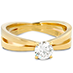 Destiny Split Shank Solitaire Engagement Ring view 3