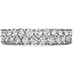Double-Row Eternity Band Right Hand Ring view 1