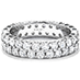 Double-Row Eternity Band Right Hand Ring view 3