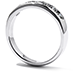 Duets Channel Set Wedding Band for Women view 2