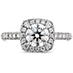 Euphoria Pave Engagement Ring view 1