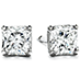 Four Prong Dream Stud Earrings