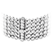 HOF 6 Row Bezel Diamond Bracelet view 3