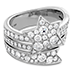 Illa Wraparound Diamond Comet Ring view 3