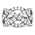 Intertwining Diamond Right Hand Ring view 4